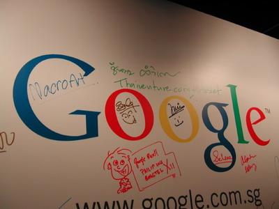 ขอฝากชื่อตัวเองไว้กับโลโก้ Google หน่อย