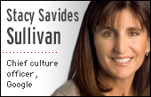 Stacy Savides Sullivan, Google's Chief Culture Officer