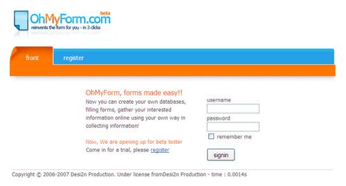 OhMyForm